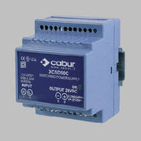 Power Supply offers universal 90-264 Vac input range.