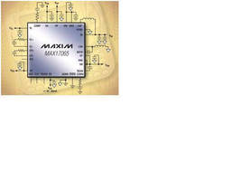 Power-Management IC operates from 2.3-4.5 V input supply.
