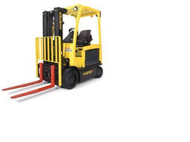 Electric Lift Truck provides ergonomic operation.