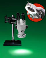 High-Intensity LED Ring Light fits all microscopes.