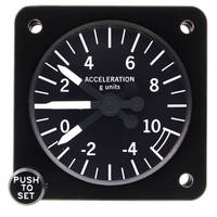 The World's Most Advanced Electronic / Analog Cockpit Accelerometer from QED/Inc.