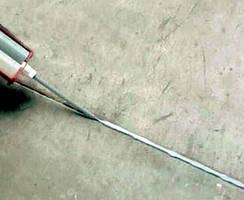 Polyurea Elastomer Joint Sealer seals concrete substrates.