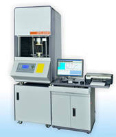 Analyzer measures properties of polymer and rubber compounds.