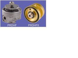 Pressure Regulators have output pressures from 0-30 psig.