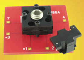 QFN Socket is designed for 0.5 mm pitch QFN 64 pin ICs.