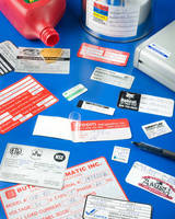 Self-Laminating Labels can be printed in multiple colors.