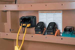 Power Supply provides power to any brand jobsite box.