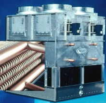 Coolers/Condensers feature copper coil construction.