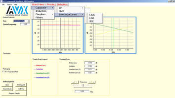 AVX's Free Software Tool Improves the PC-Based Design-In Process for Broad Spectrum of Our Advanced Components...