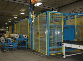 Compression Wrapping System can process upto 5 packs per/min.