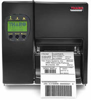 Thermal Transfer Printers are available in 203 or 300 dpi.