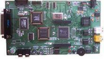 Evaluation/Emulation Board is used to debug DSP systems.