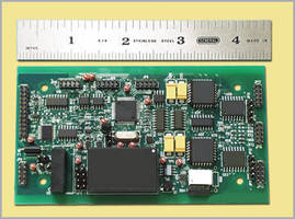 Signal Conditioner Board provides LVDT and PC connectivity.