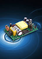 AC/DC Power Supplies deliver power density of 6.6 W/cu in.