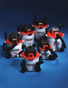 Wet/Dry Vacuums operate at 150 mph.