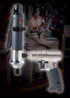 Air Impact Screwdrivers feature ergonomic design.