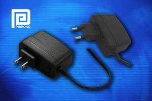 Fixed-Prong Wall Adapters are ENERGY STAR® EPS 2.0-compliant.