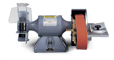 Belt Sander/Grinder provides motor speed of 3,600 rpm.