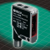 Photoelectric Sensors detect targets of any color or shape.