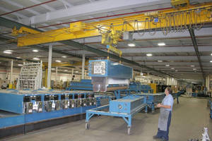 Cleveland Tramrail® System Helps Company Move Up for Nearly 25 Years
