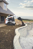 Compact Track Loader measures only 47 in. wide.