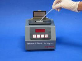 Infrared Analyzer measures percent ethanol in gasoline.