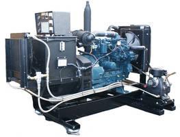 Generator/Compressor Unit features space-saving design.