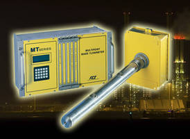 Mass Flowmeters suit gas, air, and CEMS applications.