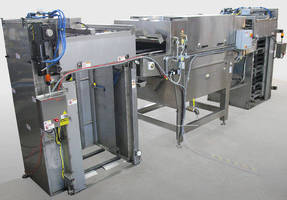 Pallet Washer cleans up to five pallets/min.