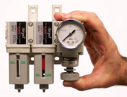 Filter/Regulator System Offers Precise Control and Ultra-Clean Air for Super Sensitive Motion Control Applications