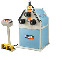 Roll Bender operates in vertical or horizontal position.