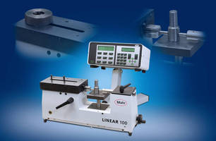 Mahr Federal To Feature Linear 100 Universal Length Measuring Instrument and 36B ID/OD Indicator Gage At EASTEC 2009