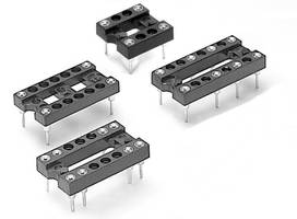 Relay Sockets accept devices with I/O pins on .100 in. grid.