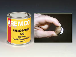 Adhesive can withstand temperature above 600°F.