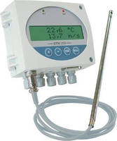 Air Velocity/Air Flow Transmitter suits pharmaceutical use.