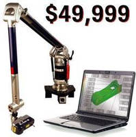 Articulating Arm is designed for non-contact measurement.