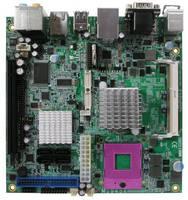 Mini-ITX Board features onboard dual gigabit LAN.