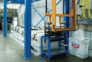 CNC Finishing System is programmable and customizable.