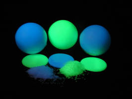 Thermoplastic Glow Compound is designed for outdoor use.