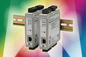 I/O Modules come in industrial and commercial-grade versions.