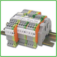 Terminal Block is rated for 600 V leads.