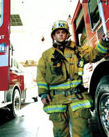 Fiber is designed for use in firefighter turnout gear.