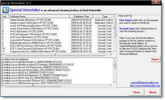 Uninstaller Software supports 32-bit and 64-bit PCs.