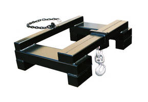 Lift Hook handles suspended loads up to 10,000 lb.