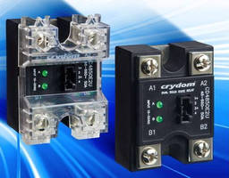 Solid State Relays feature dual AC output.