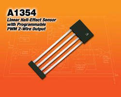 2-Wire Linear Hall-Effect Sensor has PWM output.