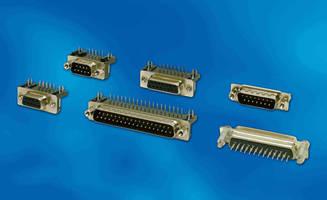 D-Subminiature Connectors target less demanding applications.