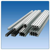 Misumi Aluminum Extrusions Now Available in Clear and Black Anodized Finishes with a Host of Options