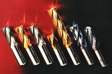 End Mills machine broad range of materials.