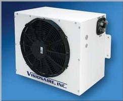 Vehicle Air Conditioning Condenser Unit 24 x 18 in. footprint.